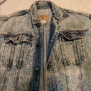 Vintage wash jean jacket from urban outfitters